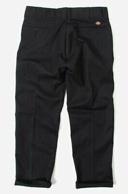 Dickies MEN/'S 873 Regular Slim Fit Cotone Chino Pantaloni Lavoro Nero
