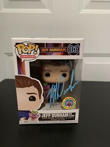 Funko Pop! Comedians Jeff Dunham & Peanut Exclusive Signed w/ Soft Protector