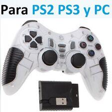 Mando inalambrico compatible para PC y playstation 2 y 3 PS2 PS3 wireless Play K