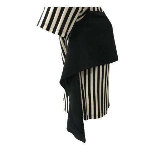 Pennyblack Jersey Women short Sleeve Striped Cream/Black Mod. Raul with App