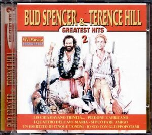 Bud-Spencer-amp-Terence-Hill-Greatest-Hits-Vol-2-Cd-Eccellente