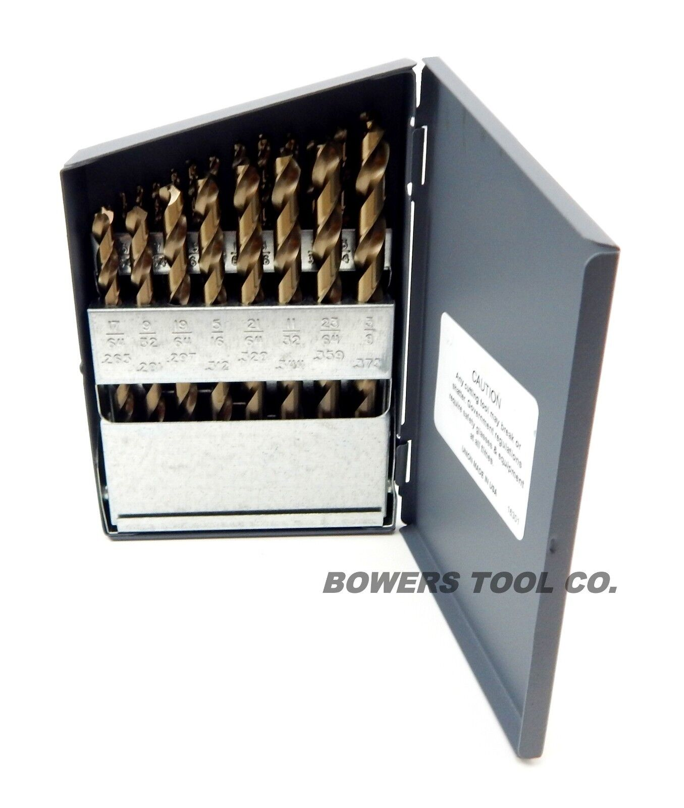 "3pcs #17 .1730/"" Diameter Jobber Length HSS Bright Drill 118° Point USA 95001616"