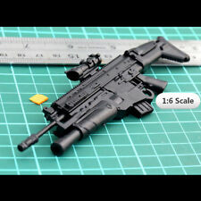 "FN SCAR Assault Rifle Tactical Gun W/Grenade Launcher 1:6 1/6 12"" Action Figures"