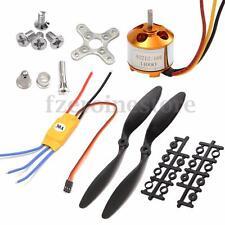 XXD 2212 1400KV Outrunner Brushless Motor + 30A ESC 1045 Hélice para QAV250