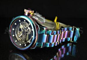 Invicta-52mm-Russian-Diver-Automatic-Ghost-Bridge-IRIDESCENT-SS-Bracelet-Watch