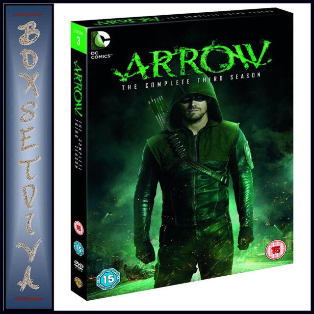 ARROW - COMPLETE SEASON 3  *BRAND NEW DVD *