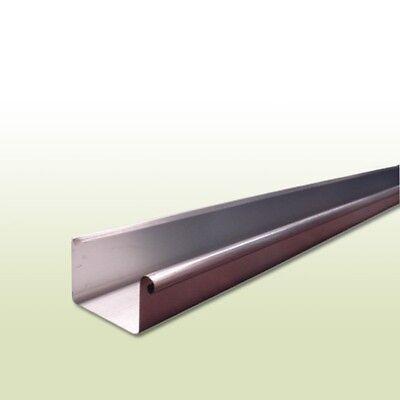 1 Meter FöRderung Der Produktion Von KöRperflüSsigkeit Und Speichel Dynamisch Aluminium Kastendachrinne Rg 250 Mm Länge