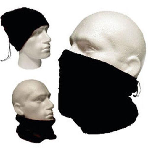 Mens Womens Snood Scarf Ski Balaclava Neck Winter Face Mask Beanie Hat Warmer