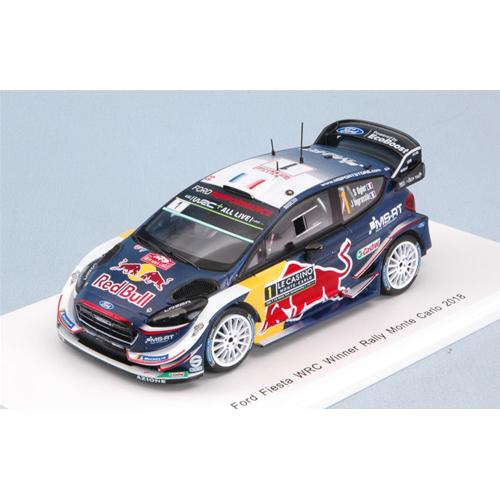 FORD FIESTA WRC N.1 WINNER MONTE CARLO 2018 S.OGIER-J.INGRASSIA 1:43 Auto Rally