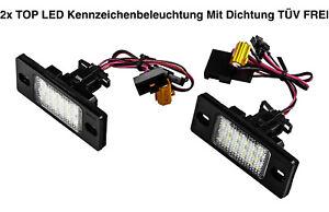 2x TOP LED Kennzeichenbeleuchtung VW Tiguan 5N bis 02.2010/ 2.0 TDI 4motion (PSK - Kenn, Deutschland - 2x TOP LED Kennzeichenbeleuchtung VW Tiguan 5N bis 02.2010/ 2.0 TDI 4motion (PSK - Kenn, Deutschland