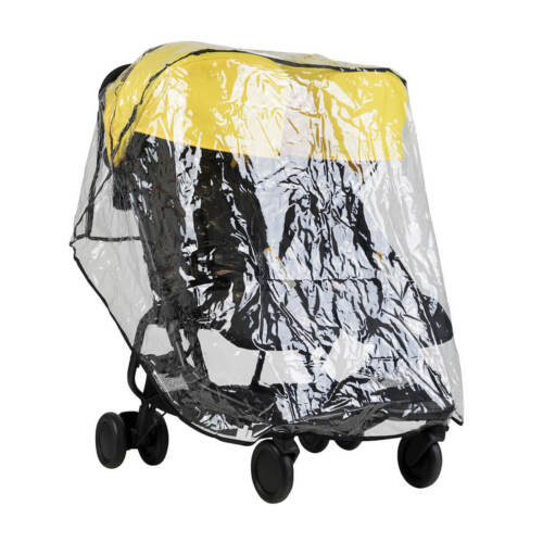Free Shipping!! Mountain Buggy Nano DUO Rain and Wind Cover Brand New!