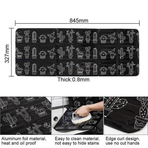 Küche Gadgets Öl Oil Splatter Bildschirme Aluminium Folie Platte Gasherd Splash//