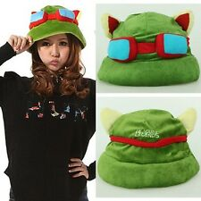 HOT New Brand COSPLAY Fashion Army Green League of Legends LOL Teemo Game Hat