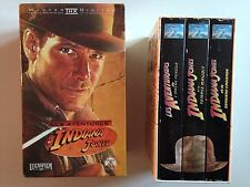 LOT 2 COFFRETS K7 VIDEO VHS LES AVENTURES D'INDIANA JONES