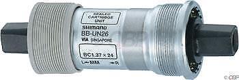 Shimano UN26 68 x 110 mm Carré Conique anglais pédalier