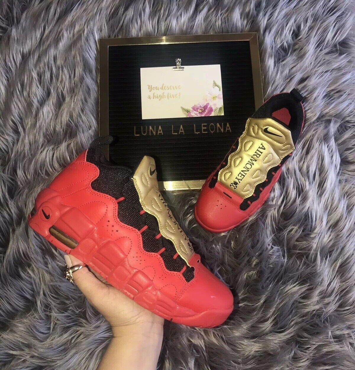 NWT Nike Air More Money (GS) Sneaker, AH5215600