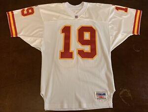 reputable site ef56a 9d91a Details about Rare Vintage Wilson Pro Line NFL Kansas City Chiefs Joe  Montana Football Jersey