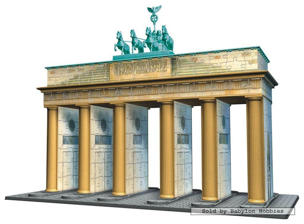 324 pcs jigsaw puzzle  Puzzle 3D - Brandenburg Gate (Famous Places Germany)
