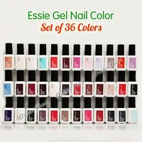 Essie Gel Nail Polish Collection - Set Of 36 Colors Complete Whole Kit Lot