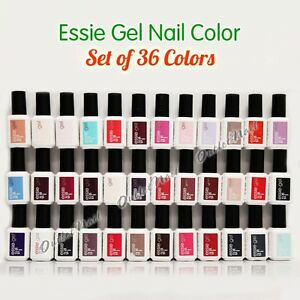 NEW ESSIE GEL Nail Polish Collection - SET OF 36 Colors Complete ...