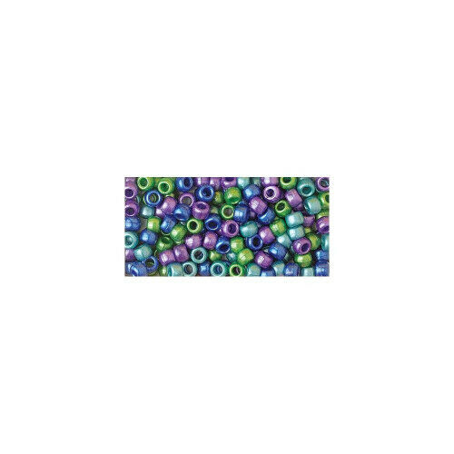 Cool Pearl Multi Delivery is Free - Beadery Pony Beads 6x9mm 415//Pkg