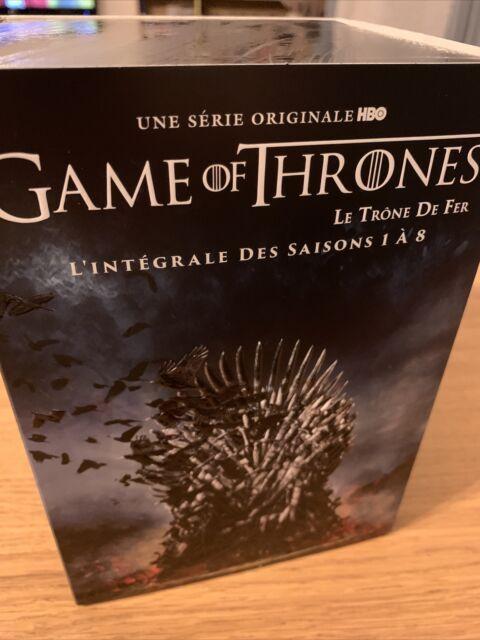 NEUF - Game of Thrones (Le Trône De Fer) L'Intégrale Saisons 1 à 8 DVD Séries