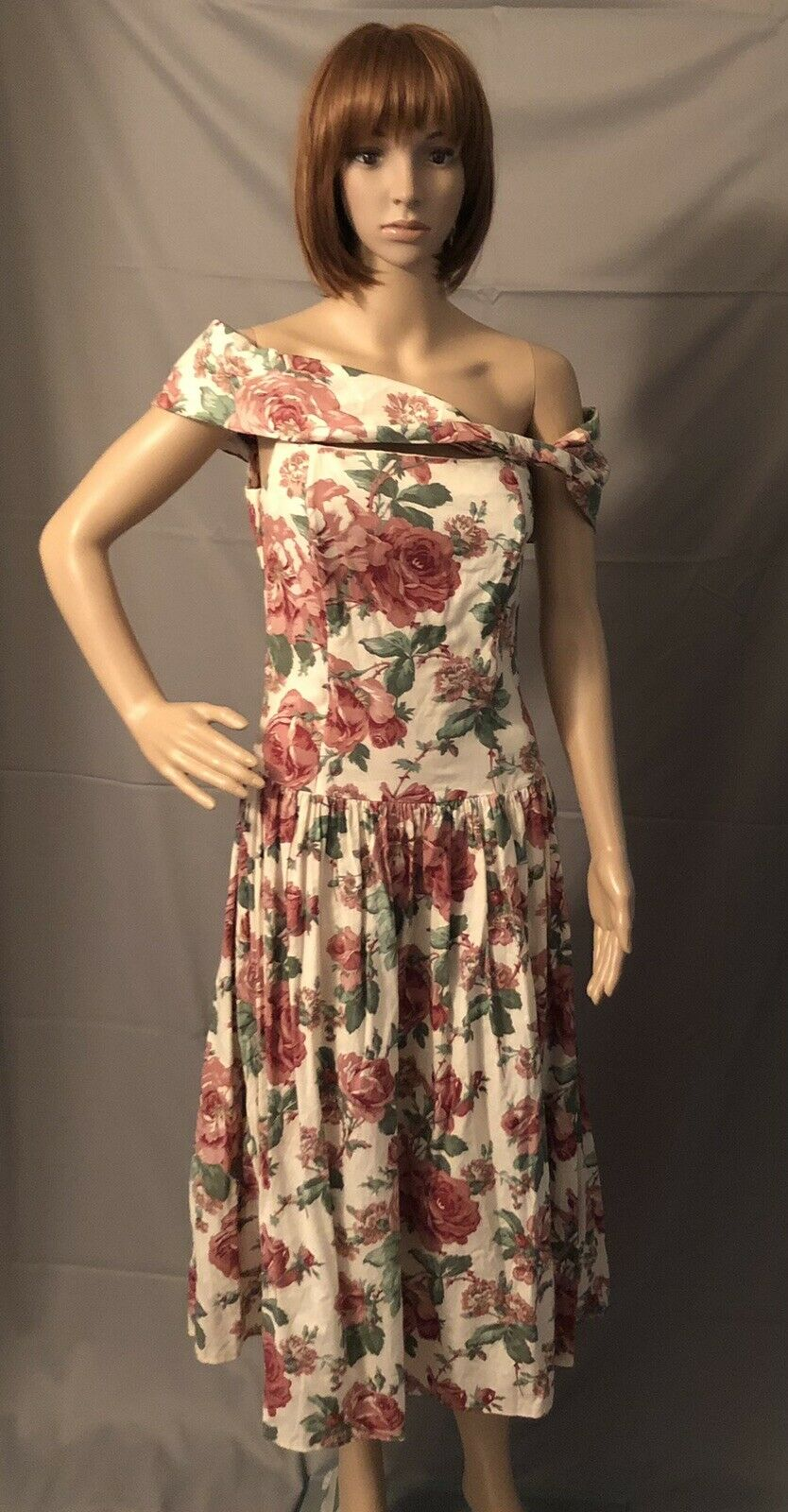 Vintge 1980s Gunne Sax Dress Dillards Dead Stock … - image 5