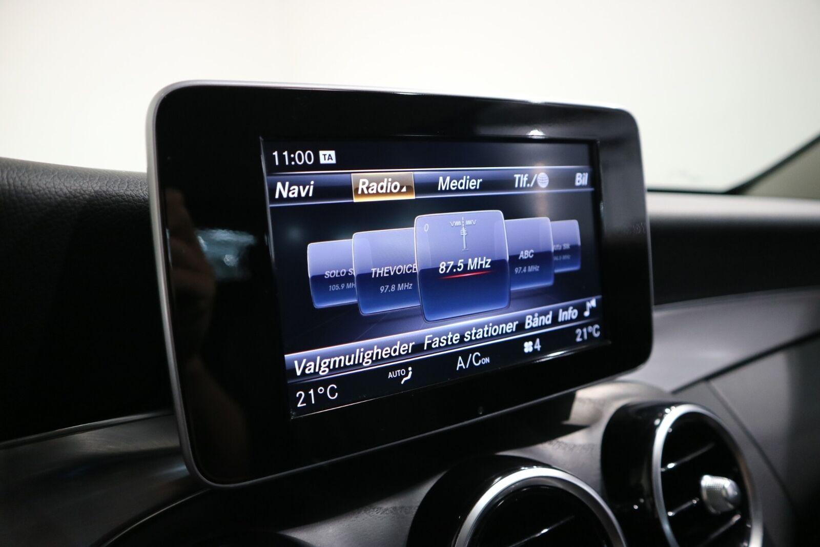 Mercedes C220 d 2,2 AMG Line stc. aut. - billede 9