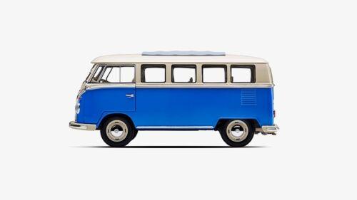 Original Volkswagen Lifestyle T1 Samba Bus 1:18 Bj.1962 Blau-Weiß 231099302  LRD
