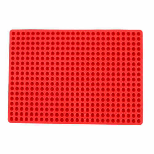 Pyramid Pan Fat Reducing Non Stick Silicone Cooking Mat Oven Baking Tray Safety!