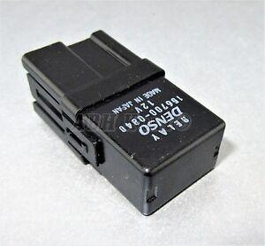 693-Suzuki-95-05-4-Pin-Multi-Use-Black-Relay-Denso-156700-0840-12V-1567000840