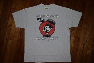 1992 nervous wreck records new york rap tee hip hop vintage t-shirt 90s reprint