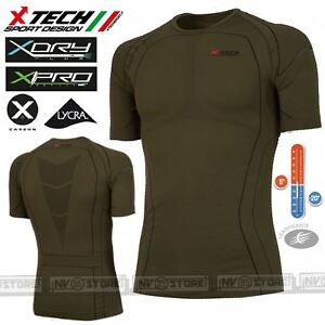 20° Thermal Hemd Made In Italy Strengthening Waist And Sinews Activewear Jersey Technik Thermal X-tech Predator3 M/c