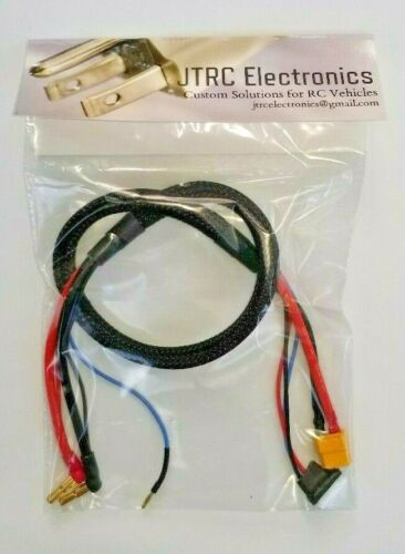 """ISDT Icharger X6 X8 XT60 2s 24"""" RC Balance Charge Lead 4mm 5mm bullet drone"""