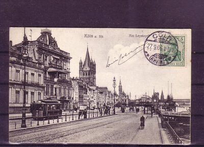 Moderater Preis Gelaufene Ansichtskarte Köln leystapel- europa:11361