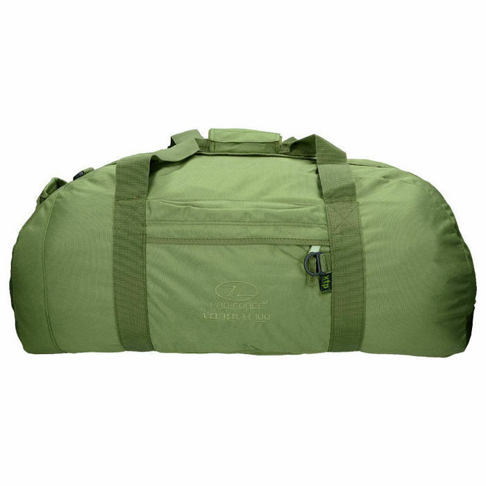 Highlander Sac de voyage sac à dos fourreau 100 L Camping sacage Olive