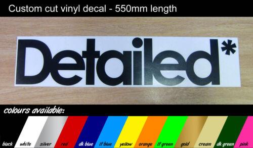 v1 Detailed* VW // VAG // DUB // JDM sticker 550mm Large Decal