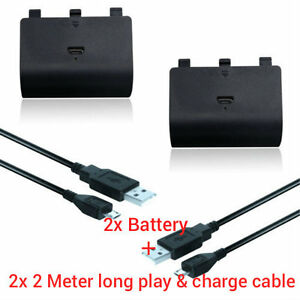 2X-Battery-Pack-Kit-for-Xbox-ONE-Play-and-Charge-Rechargeable-battery-Kit-Pack