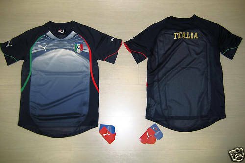 0752 TG XL ITALIEN ITALY T-SHIRT TRAINING TRG JERSEY TRIKOT TRIKOT