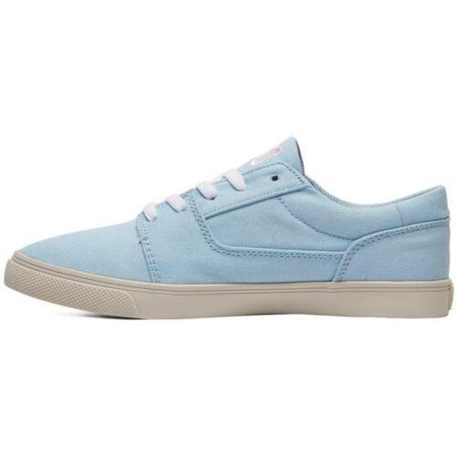 Tonik W TX Ladies Womens Light Blue Skate Shoes Trainers DC SHOES UK 3-9