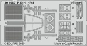 EDUARD-491080-Detail-Set-for-Modelsvit-Kit-P-51H-in-1-48