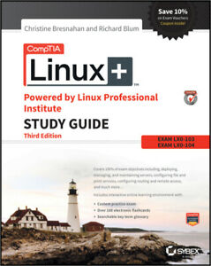 Details about CompTIA Linux+ Powered by Linux Professional Institute Study  Guide, 3rd [P D F]