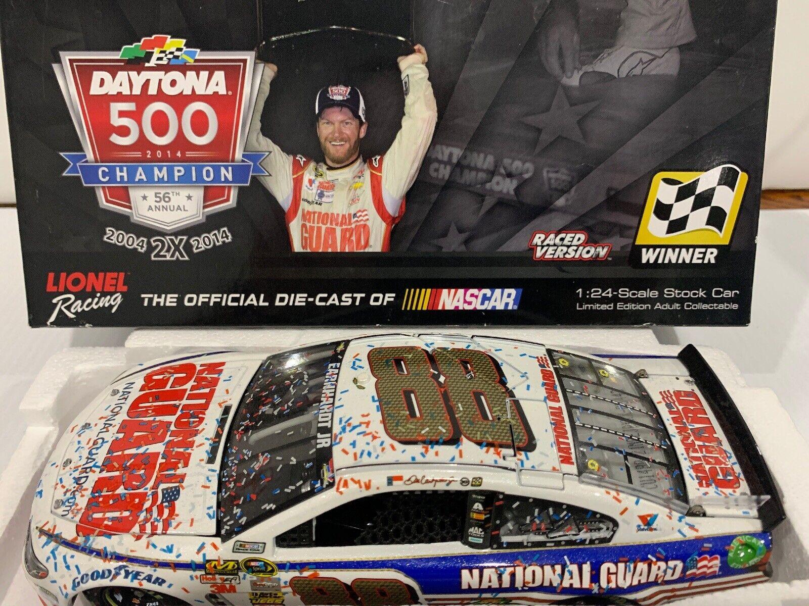 gran descuento 2014 Dale Earnhardt National Guard Guard Guard Daytona 500 corrió ganar  orden ahora disfrutar de gran descuento