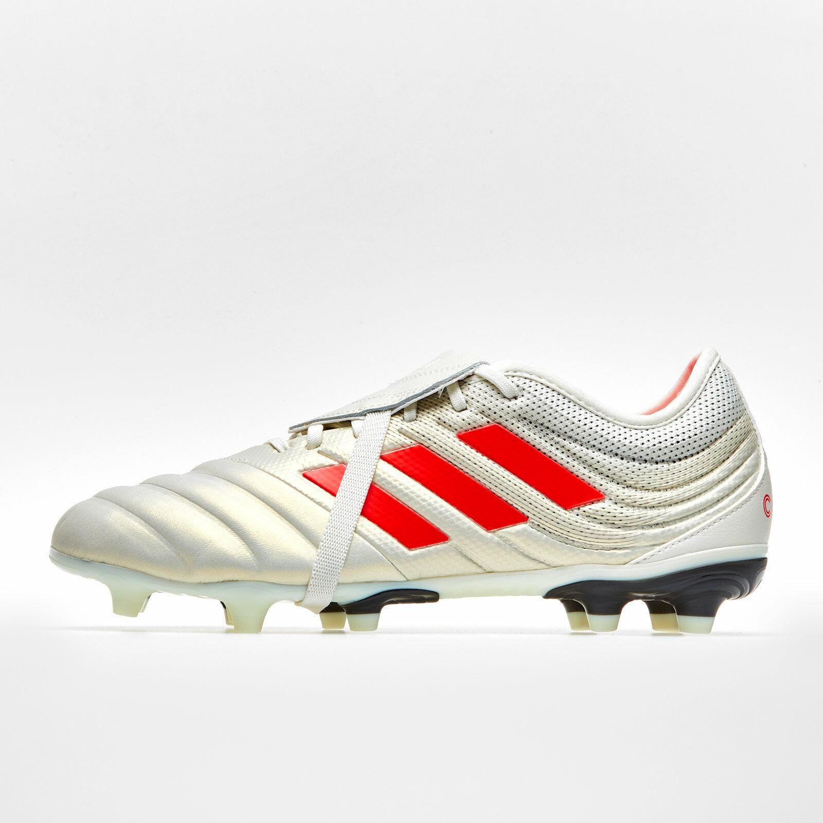 Adidas mannens Copa Glgoud 19.2 Football laarzen Studs Trainers Sportschoenen wit