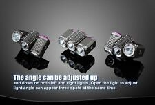TrustFire Angle Adjustable Rotating 3x CREE XM-L2 LED Bicycle Bike Light Lamp UK