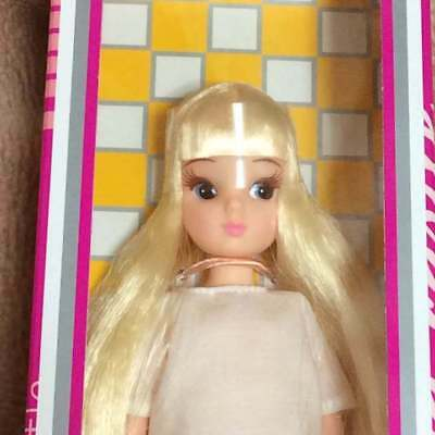 Licca Doll Rika chan Castle Takara TOMY Short Bangs Reprint First Doll Japan F//S