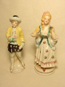 Vintage Occupied Japan Porcelain Figurines Man Woman Ebay