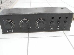 Fada-167A-BatteryType-Radio-Neutrodyne-part-no-tubes-nice-cabinet-1925-1926