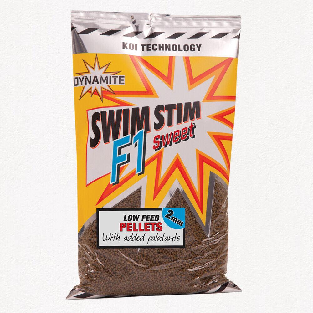 10 X 900g bolsas dinamita  Swim el F1 bajo dulce bolitas de alimentación 2mm, 4mm o 6mm  autorización oficial