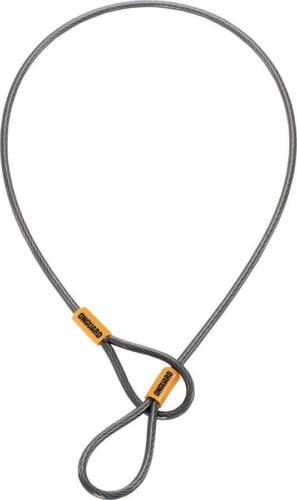 OnGuard Akita Cable for Saddles: 21 x 5m, Gray/Orange